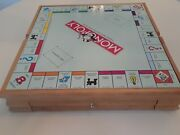 Hasbro Parker Bros Wooden Board Games Monopoly Chess Clue