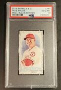Mike Trout 2016 Topps Allen And Ginter Mini Black Border Graded Psa Gem Mint 10