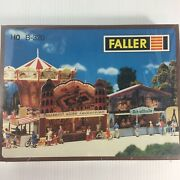 Faller B-320 Ho Train Midway Carnival Booths Circus Games Amusement Park