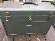 Kennedy 520 Machinist Tool Box - 7 Drawer With 2 Keys - Nice And Items Included