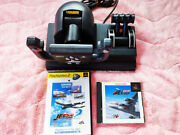 Ps Go By Jet Controller Games Set Pc With Usb Adapter Windows Ms Flight Used F/s