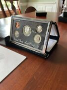 1997-s Silver Us Premier Proof Set In Us Mint Box And Coa
