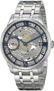 Tissot T0994051141800 T-complication Swiss Automatic Watch Silver For Men