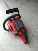 """Vintage Craftsman 3.7/18"""" 3.7 W/ Bar Chain 61cc Muscle Saw Sears Parts Restore"""