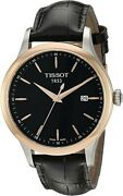 Tissot Quartz Stainless Steel Menand039s Casual Watch Color Black