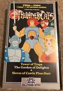 Thundercats Video Vhs Rare Childrens Cartoon Tower Of Traps Garden Of Delights