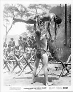 Tarzan And The Great River 8x10 Inch Original Photo Mike Henry Lifts Up Man