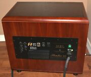 Rare Rel Acoustics Stentor Lll Cherry-veneered Subwoofer In Very Nice Condition