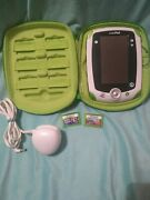 Leap Frog Leappad Explorer Learning Tablet Green 32200 With 2 Games And Case