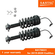 84176631pair Front Shock Absorber Assy W/magnetic Control For 2015-2020 Cadillac