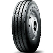 4 Tires Kumho Kma01 11r22.5 Load H 16 Ply Steer Commercial