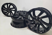 20 Land Rover Discovery Lr4 20 Factory Oem Wheels Rims Black 5x120