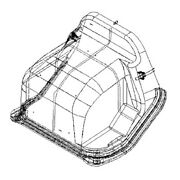 Freightliner Cover Engine Mdm Wo Csl Hx A1853799000