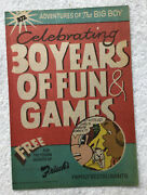 1988 Frischs Comic Book No 372 Big Boy 30 Years Of Fun And Games D3