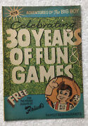 1988 Frischs Comic Book No 373 Big Boy 30 Years Of Fun And Games S3