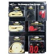 K-tool International Tie Downs And Tow Straps Display Board Kti-0822