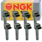 8 Pcs Ngk Ignition Coil For 2007-2010 Volvo S80 4.4l V8 - Spark Plug Tune Up Nc