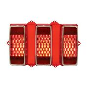 United Pacific 110107 Led Sequential Tail Light For 1969 Ford Mustang