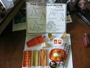 Dolls 1975 Marx The Mountain House Parts Boat Rug Table Ladder Chairs Wood Inst
