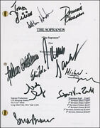 The Sopranos Tv Cast - Script Signed Circa 1997 With Co-signers