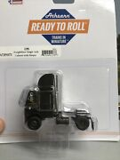 """1/87 Ho Scale, Athearn Ready To Roll """"ups"""" Cabover Sigle Axle Tractor Nib"""