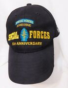 Airborne Special Forces 50th Anniversary 1952-2002 Adult Baseball Style Hat Cap