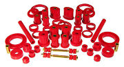 Prothane 99-04 Ford Mustang Complete Total Suspension Bushings Insert Kit Red