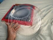 Vintage Collectible 1990 Coca Cola 13 Glass Platter Serving Tray 3947 In Box