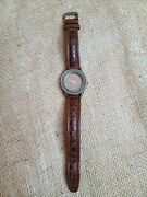 Womenand039s John Hardy Collection 4873 Handcrafted Sterling 925 Watch Vintage Swiss