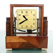 Bulle Travellers Carriage Mantel Clock Rarity Antique French Translucent France