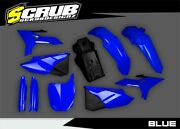 Yamaha Yz 125/250 2015-2021 Racetech Revolution Restyle With Fuel Tank