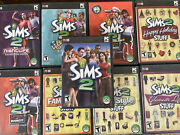 Sims 2 Glamour Open For Business Lot Pc Mega Bundle Family Fun Nightlife Holiday