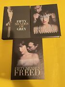 Fifty Shades Of Grey Trilogy Walmart Exclusive Blu-ray / Dvd Digibook