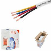 500ft 16awg 4 Conductors 16/4 Cl2 Rated Loud Speaker Cable Wire Pull Box For