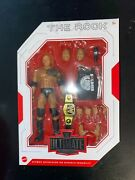 Wwe Mattel The Rock Ultimate Edition Series 10 Figure Rare New In Hand Popular