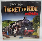 Days Of Wonder Ticket To Ride Marklin Board Game 99.9 Complete Used