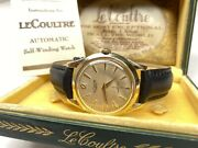 Beautiful Vintage Lecoultre Automatic Swiss Wristwatch With Box/papers 🇨🇭