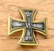 Rare Antique Wwi Imperial German Prussian Iron Cross 1st Class Vaulted