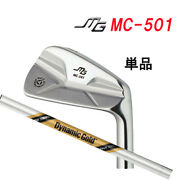 With Limited Head Cover Mc-501 Iron Only Miura Giken Dg Tour Issue Dynamic Gold