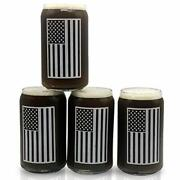 Beer Glass Can Shaped Drinking Glasses Set Of Libby 209 16oz Usa American 4