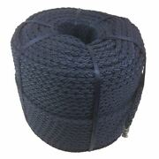 20mm Navy 8 Strand Nylon Rope Anchor Boat Mooring Yacht - Select Your Length
