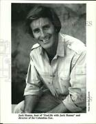 Press Photo Jack Hanna Director Of The Columbus Zoo And Host Of Zoolife