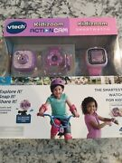 Vtech Kidizoom Smartwatch Plus Action Cam Bundle For Girls. Free Shipping