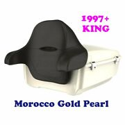 Morocco Gold Pearl King Tour Pack Pak For 97-21 Harley Street Road Electra Ultra