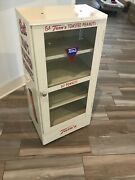 Tomand039s Toasted Peanuts Display Cabinet Vintage 1940and039s 1950and039s Country Store