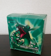 Pokemon Center Limited Edition Rayquaza Edition Game Boy Advance Sp Game New