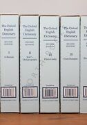 The Oxford English Dictionary 2nd Edition 20 Vols. With Djs And Original Boxes