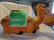 Vintage Christmas Nativity Camel Plastic Lighted Blow Mold - 28