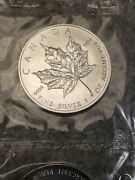 Mint Sealed 10 Pack 2002 Canadian Silver Maple Leaf Coins - Low Mintage Year