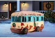Gemmy National Lampoons Christmas Vacation Rv Inflatable 7.5' Wide New